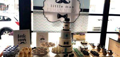 Little Man 1st Birthday for Erman