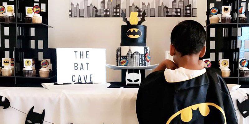 Batman Birthday Party for Maddox