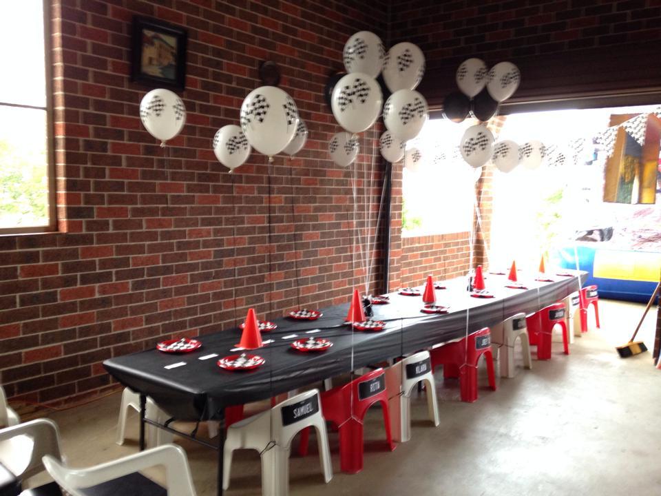 Kids Table Set Up