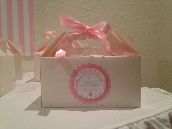 Party Boxes - Pink