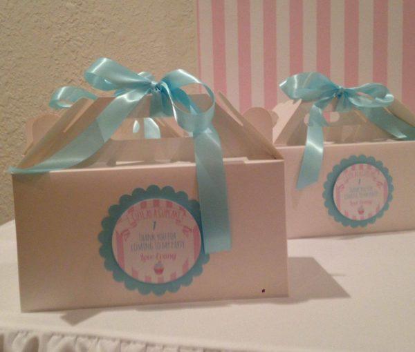 Party Boxes - Blue