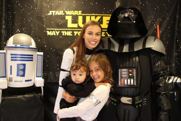Star Wars Party Backdrop - May the force be with you