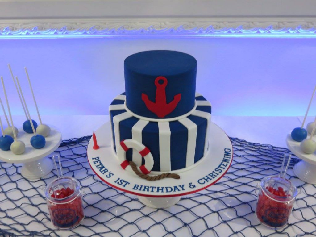 Nautical Party Cake
