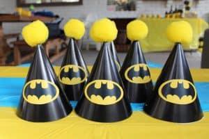 Batman Symbol for Batman Party Hats | Little Dimple Designs