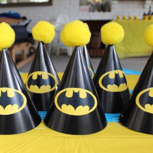 Batman Symbol for Batman Party Hats | Little Dimple Designs