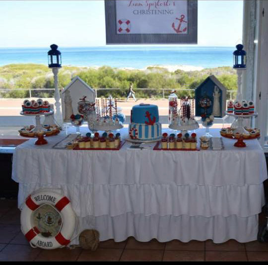Nautical Event Decor: Nautical Theme Candy Buffet Ideas