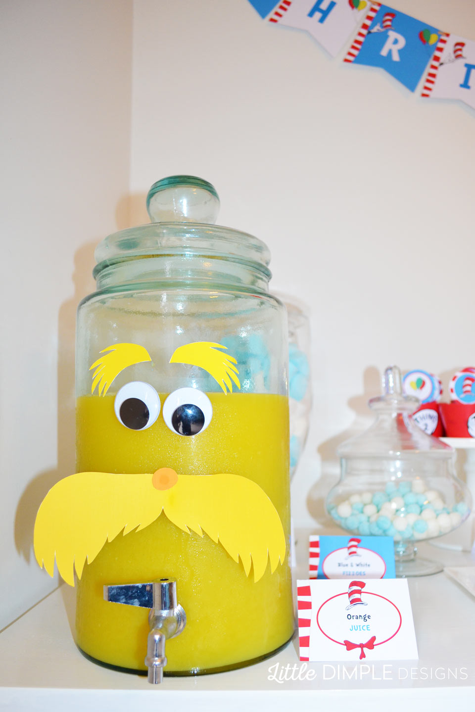 Dr Seuss Printable Party Decorations | Little Dimple Designs