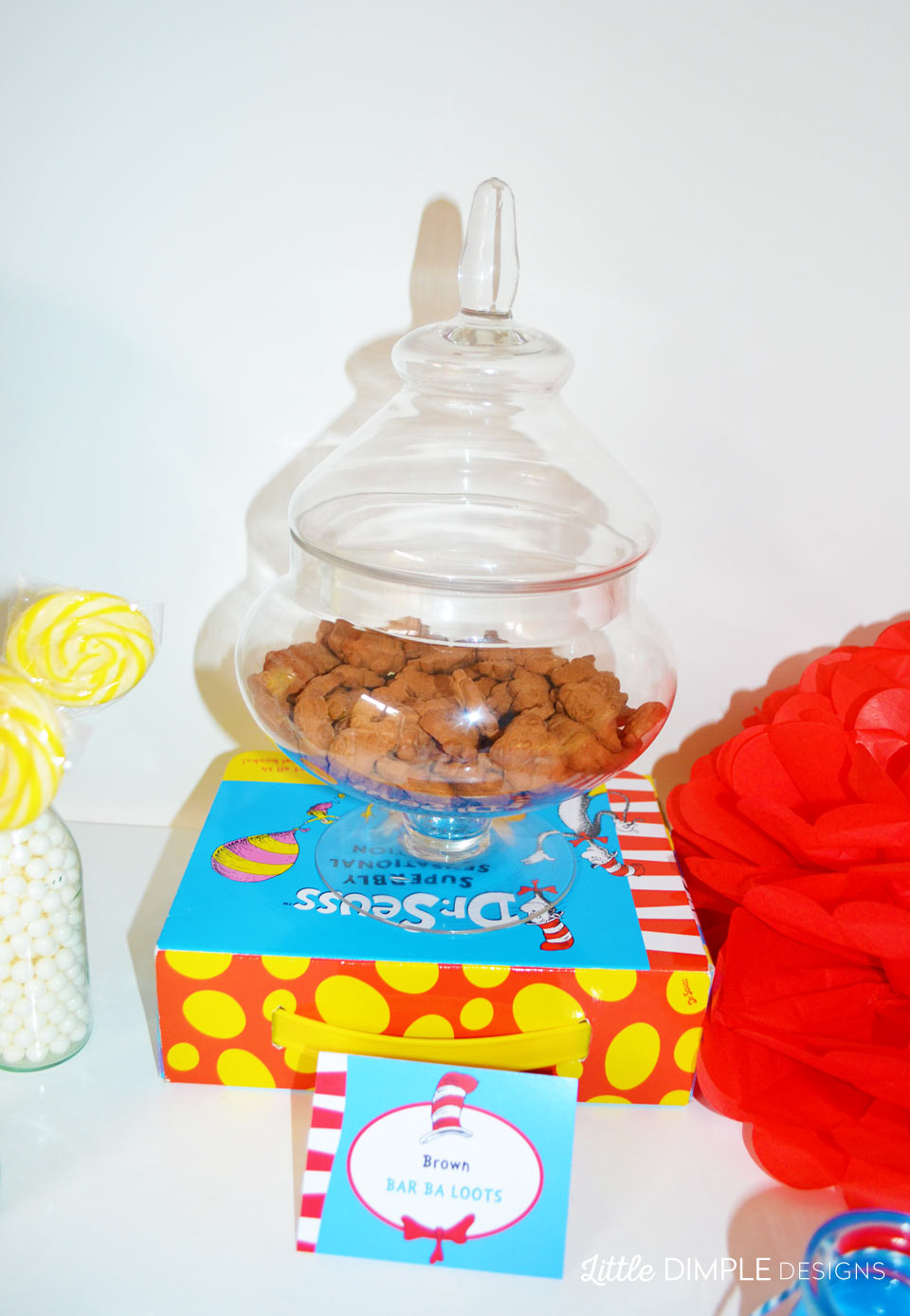 Dr Seuss Brown Bar Ba Loots Treats