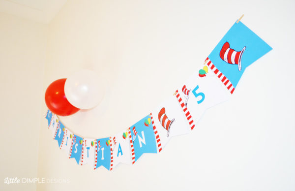 Dr Seuss Bunting
