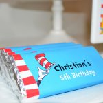Dr Seuss Chocolate Candy Bar Wrapper