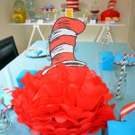 Dr Seuss Cat in the Hat Centerpiece