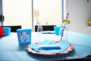 Dr Seuss Birthday Party for Christian