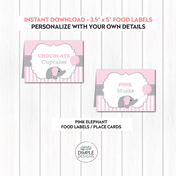 photo about Free Printable Buffet Food Labels identify Printable Buffet Food stuff Labels Archives - Small Dimple Models