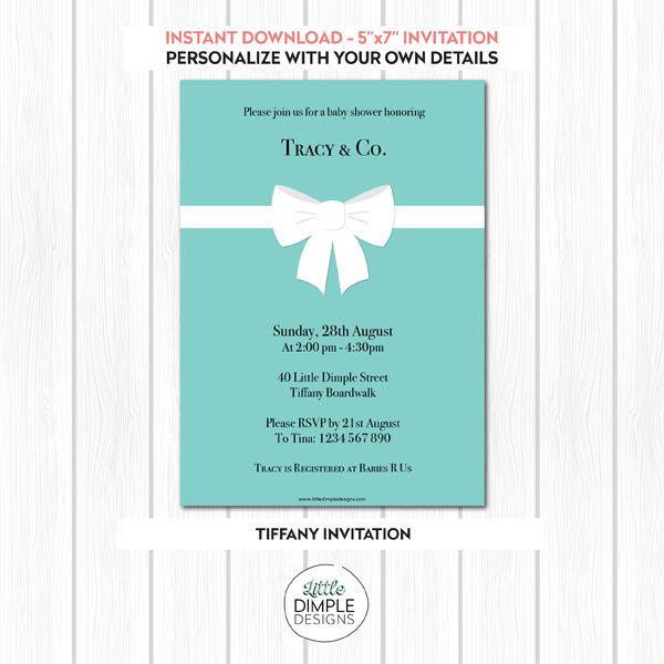Tiffany Invitation