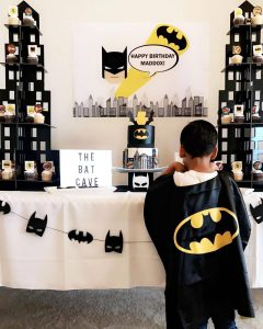 Batman Birthday Party for Maddox