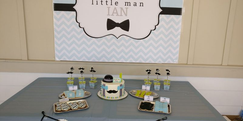 Little Man 1st Birthday Party for Ian