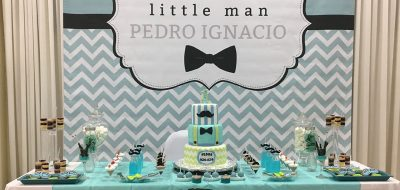 Little Man Mustache 1st Birthday for Pedro
