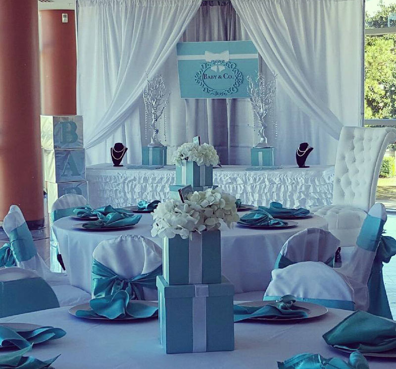 Tiffany & Co Banner for Baby Shower