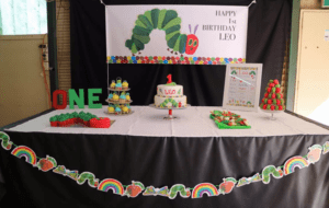 hungry caterpillar backdrop-banner