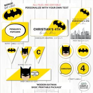 Batman Party Decorations